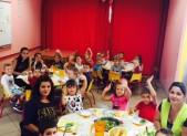 1er jour, 1er repas pour les Maternelles du Pradelet