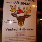 Marché de Noel à Arignac