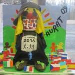 Mon Euro 2016, la mascotte Sauratoise