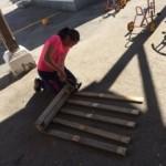Arignac : Préparation du Jardin