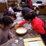 Marché de Noël : Sujets en perles à repasser