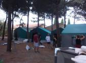 Le Camp se prépare à Leucate …