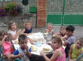 Dernière photo de l'ALAE à Arnave … jusqu'en Septembre !