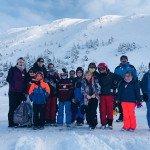 Stagiaires Ski à Goulier