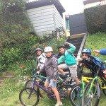 Vélo avec les Grands