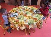 A Niaux … les petits citoyens … à table !