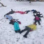 Il a aussi neigé à Ornolac Ussat les Bains