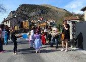 Carnaval dans les rues d'Ornolac Ussat les Bains