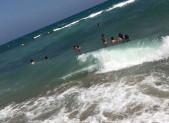 A Leucate … dans l'eau, bien entendu !
