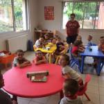 Pizza party chez les Petits