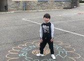 Les enfants pensent aux résidents des EHPAD