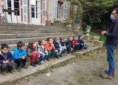 Les plus petits au Château de Bergues