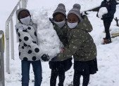 A Mercus aussi … il a beaucoup neiger !