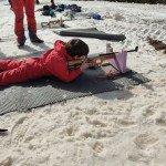 Biathlon à Beille