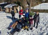 A Niaux en Hiver … entre neige et créations