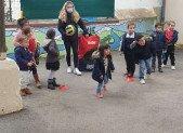 En Volley vous avec les maternelles d'Arignac !