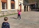 A Niaux, Volley-ball et Activités Nature